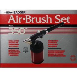 Click here to learn more about the Badger Air-Brush Co. 350 Airbrush Basic Set.