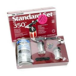 Click here to learn more about the Badger Air-Brush Co. 350 Airbrush Set with Propellant.