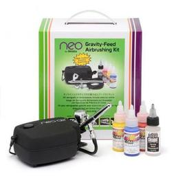 Click here to learn more about the Iwata Airbrushes NEO Iwata CN Gravity Feed Airbrush Set.
