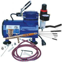 Click here to learn more about the Paasche Airbrush Company Airbrush & Compressor Package: TG3F, D500SR, & AC7.