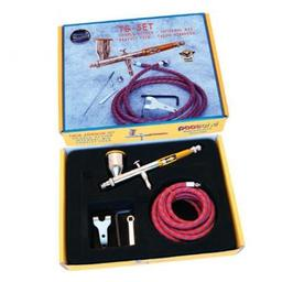 Click here to learn more about the Paasche Airbrush Company Talon Gravity Feed Airbrush Set.
