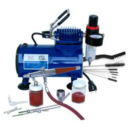Click here to learn more about the Paasche Airbrush Company Airbrush & Compressor: VLSET, D500SR, DVDVL & AC7.