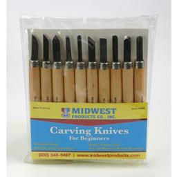Click here to learn more about the Midwest Products Co. Carving Knives, 10 pc. Set.