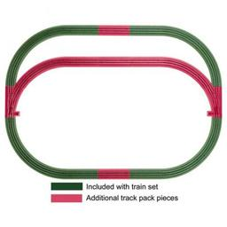 Click here to learn more about the Lionel O-36 FasTrack Outer Passing Loop Track Pack.