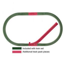 Click here to learn more about the Lionel O FasTrack Siding Track Pack.
