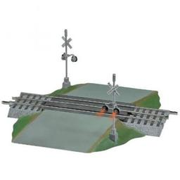 Click here to learn more about the Lionel O FasTrack Grade Crossing w/Flashers.