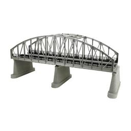 Click here to learn more about the M.T.H. Electric Trains O 2-Track Steel Arch Bridge, Silver.