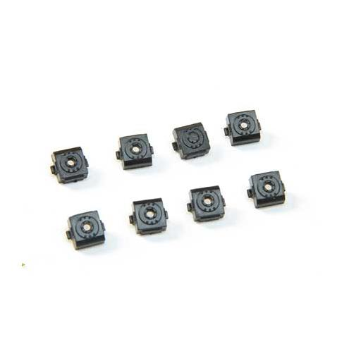 Athearn HO Square Bearings Cap w/Hole for Speed Recorder 8
