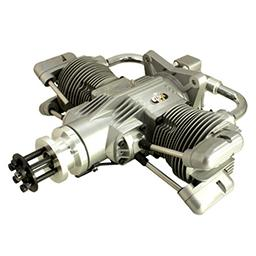 Click here to learn more about the Saito Engines 100cc 4-Stroke Twin-Cylinder Gasoline Engine.
