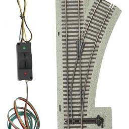 Click here to learn more about the M.T.H. Electric Trains S S-Trax #3 Remote RH Switch.