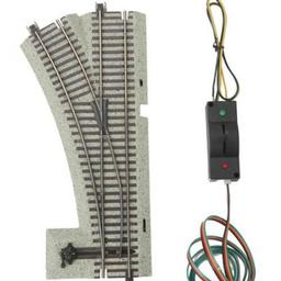 Click here to learn more about the M.T.H. Electric Trains S S-Trax #3 Remote LH Switch.
