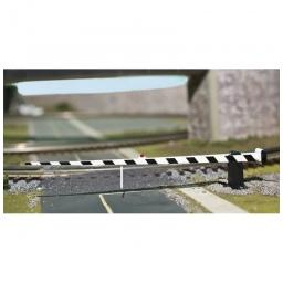 Click here to learn more about the Atlas O, LLC O Crossing Gate, Black/White.