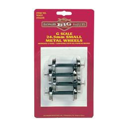 Click here to learn more about the Bachmann Industries G Small Metal Wheel Set.
