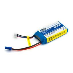 Click here to learn more about the E-flite 1300mAh 2S 7.4V 20C LiPo, 18AWG EC2.