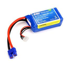 Click here to learn more about the E-flite 1350mAh 3S 11.1V 30C LiPo, 13AWG EC3.