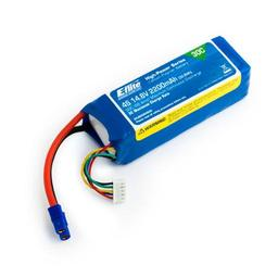 Click here to learn more about the E-flite 2200mAh 4S 14.8V 30C LiPo, 13AWG EC3.