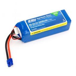 Click here to learn more about the E-flite 3200mAh 6S 22.2V 30C LiPo, 12AWG EC3.