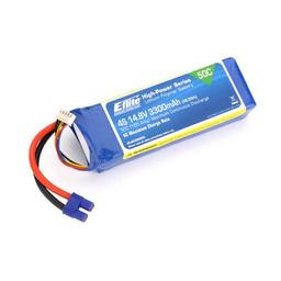 Click here to learn more about the E-flite 3300mAh 4S 14.8V 50C LiPo, 12AWG EC3.
