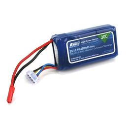 Click here to learn more about the E-flite 450mAh 3S 11.1V 30C LiPo, 18AWG JST.