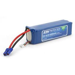 Click here to learn more about the E-flite 5000mAh 5S 18.5V 30C LiPo, 10AWG EC5.