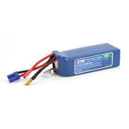 Click here to learn more about the E-flite 5000mAh 6S 22.2V 30C LiPo, 10AWG EC5.