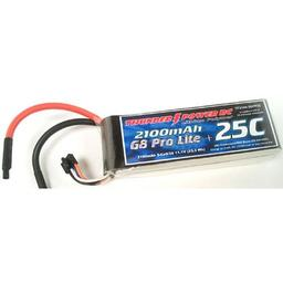 Click here to learn more about the Thunder Power RC 2100mAh 3S 11.1V G8 Pro Lite+ 25C LiPo.