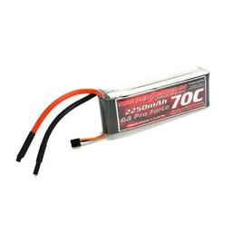 Click here to learn more about the Thunder Power RC 2250mAh 3S 11.1V G8 Pro Force 70C LiPo.