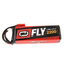Click here to learn more about the Venom 2200mAh 3S 11.1V 30C LiPo Flyzone S Tigre HXT Plug.