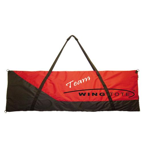 Wingtote LLC Single Wing/Tail Tote X-Small 44x16 Red/Black