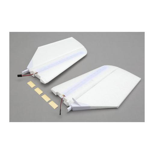 E-flite Horizontal Tail w/LED''s: NIGHTvisionaire BNF Basic