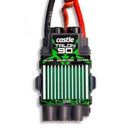 Click here to learn more about the Castle Creations Talon 90- Amp 25V BL ESC W/20amp BEC 010-0097-00.