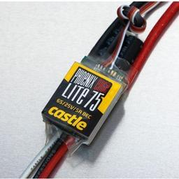 Click here to learn more about the Castle Creations Phoenic Edge Lite 75-Amp 34V ESC w/5 Amp BEC.