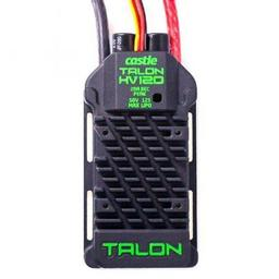 Click here to learn more about the Castle Creations Talon 120HV ESC 120AMP, 12S Max Heavy Duty BEC.