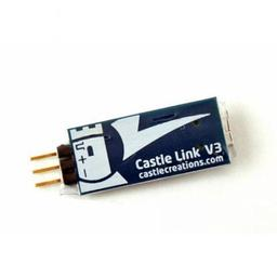 Click here to learn more about the Castle Creations Castle Link USB Programming Kit V3 011-0119-00.