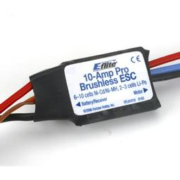 Click here to learn more about the E-flite 10-Amp Pro Brushless ESC.