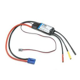 Click here to learn more about the E-flite ESC: 100-Amp Pro Switch-Mode 5A BEC Brushless ESC.
