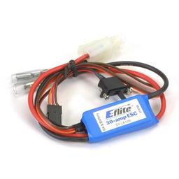 Click here to learn more about the E-flite 30-Amp Mini Brushed ESC with Brake.
