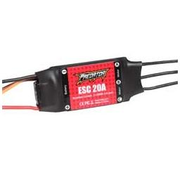 Click here to learn more about the FMS 20A ESC: Predator 20A ESC w/XT60.