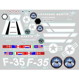 Click here to learn more about the FMS Decal Sheet: F35 V2.