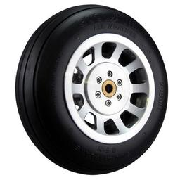 "Click here to learn more about the Robart Manufacturing Scale P-51 Aluminum Wheel 5"" (1)."