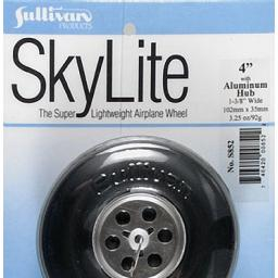 "Click here to learn more about the Sullivan Products Sky Wheel w/Alum Hub 4""."