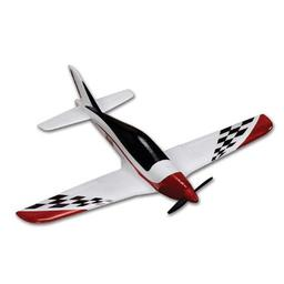 Click here to learn more about the Hitec RCD Inc. Zipper Mini Plane,EPO,ARF,Unpainted.