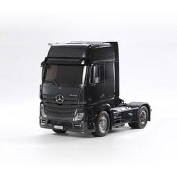 Click here to learn more about the Tamiya America, Inc 1/14 Mercedes-Benz Actros 1851 GigaSpace Black Ed..
