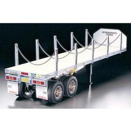 Click here to learn more about the Tamiya America, Inc 1/14 Semi Flatbed Trailer Kit.