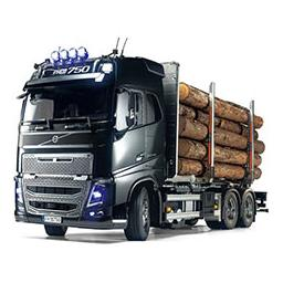 Click here to learn more about the Tamiya America, Inc 1/14 Volvo FH16 Globetrotter 750 6x4 Timber Truck.