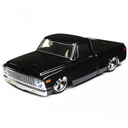 Click here to learn more about the Vaterra 1/10 1972 Chevy C10 Pickup Trk V-100S,BLK:4WD RTR.