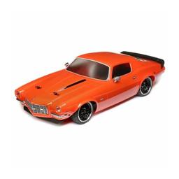 Click here to learn more about the Vaterra 1972 Chevy Camaro SS, V100 Orange: 1/10th 4WD RTR.