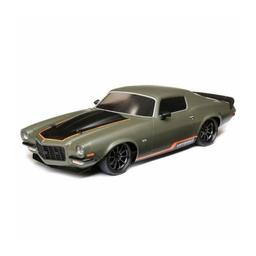 Click here to learn more about the Vaterra 1972 Chevy Camaro SS, V100  Green: 1/10 4WD RTR.