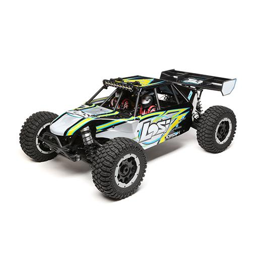 Losi Desert Buggy XL-E:1/5th 4wd Elec RTR Black/Yellow