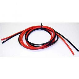 Click here to learn more about the Calandra Racing Concepts (CRC) Superflex 14 Wire, 3Ft, Red & Black.